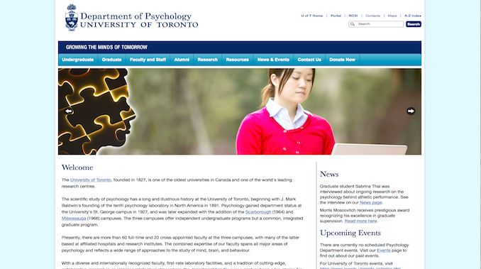 Visit the Psychology Department Website