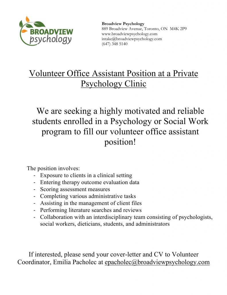 Broadview Psychology Volunteer Ad 2016-1