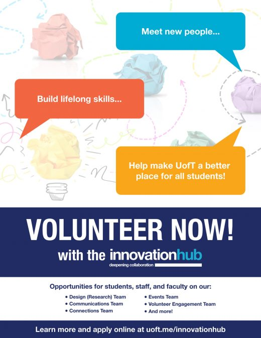 Innovation Hub Volunteer Poster-1