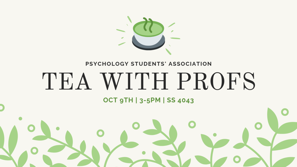 Tea With Profs banner